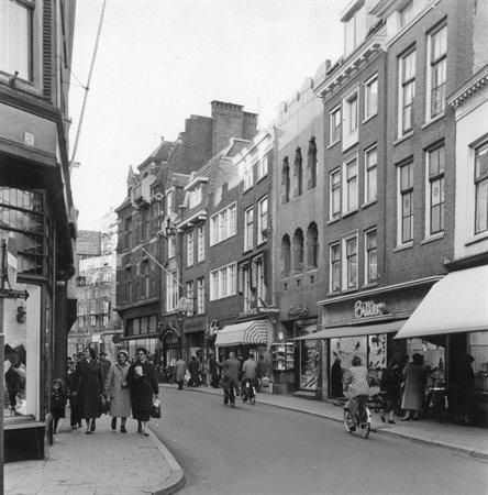 The Choorstraat in the old days