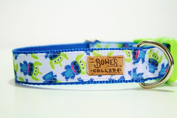 Lilo Stitch Aliens Toy Story Disney Dog Collar Or Matching Etsy