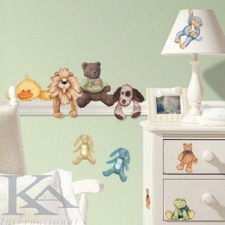 Sticker Cuddle Buddies, Colectia RoomMates, pentru copii.