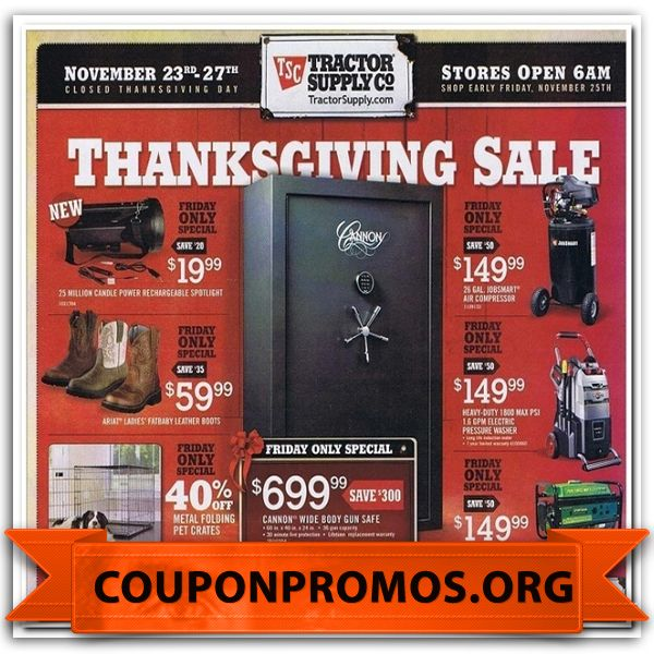 It's just a picture of Juicy Tractor Supply Coupon Printable