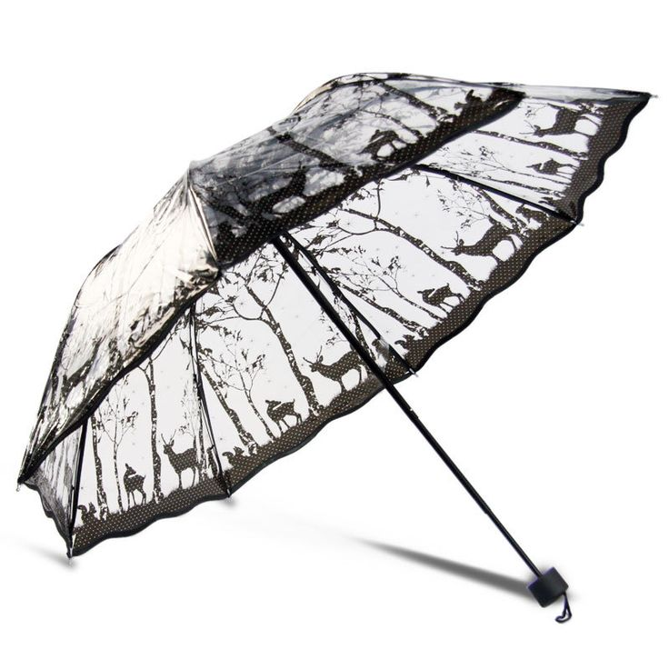 Cheap umbrellas best, Buy Quality umbrella doll directly from China umbrella display Suppliers: three folding Beautiful sun rain umbrellas high quality rain tools woman flowers transparent umbrella for women 8 styles