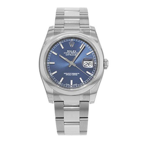 Rolex Mens New Style Heavy Band Stainless Steel Datejust Model 116200 Oyster Band Stainless Steel Smooth Bezel Blue Stick Dial https://www.carrywatches.com/product/rolex-mens-new-style-heavy-band-stainless-steel-datejust-model-116200-oyster-band-stainless-steel-smooth-bezel-blue-stick-dial/  #men #menswatches #rolex #rolexwatch #rolexwatches - More Rolex mens watches at https://www.carrywatches.com/shop/wrist-watches-men/rolex-watches-for-men/