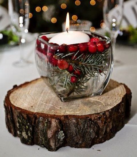4 Of The Best White Winter Wedding Themes Wedding Ideas: Best 25+ Wood Slab Centerpiece Ideas On Pinterest