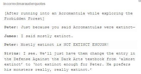 the marauders<------I UNDERSTOOD THAT REFERENCE!!! I love the mortal instruments as well as harry potter