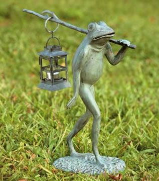 The Trekking Frog Lantern Is Just One Of The Extraordinary Garden Frogs You  Will Discover At