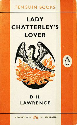 "Lady Chatterley´s Lover by D.H. Lawrence, first published in 1928. Lawrence's novel attracted attention due to its use of words deemed ""unpublishable"", as well as the taboo topic of inter-class sex.   It wasn't until 1960 that an unexpurgated copy was sold in the UK, and that was the basis for an obscenity trial. In Australia, not only was the book banned, but a book about the trial of the banning of the book was banned too."