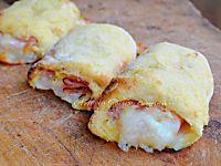 Millefoglie alle pesche, mascarpone e ricotta, dolce veloce, facile, dolce dopo pranzo o cena, ricetta con le pesche anche sciroppate, dolce con pasta sfoglia