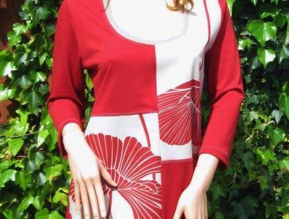 Totally Unique Merino Cotton Tunic- Medium- One-Off