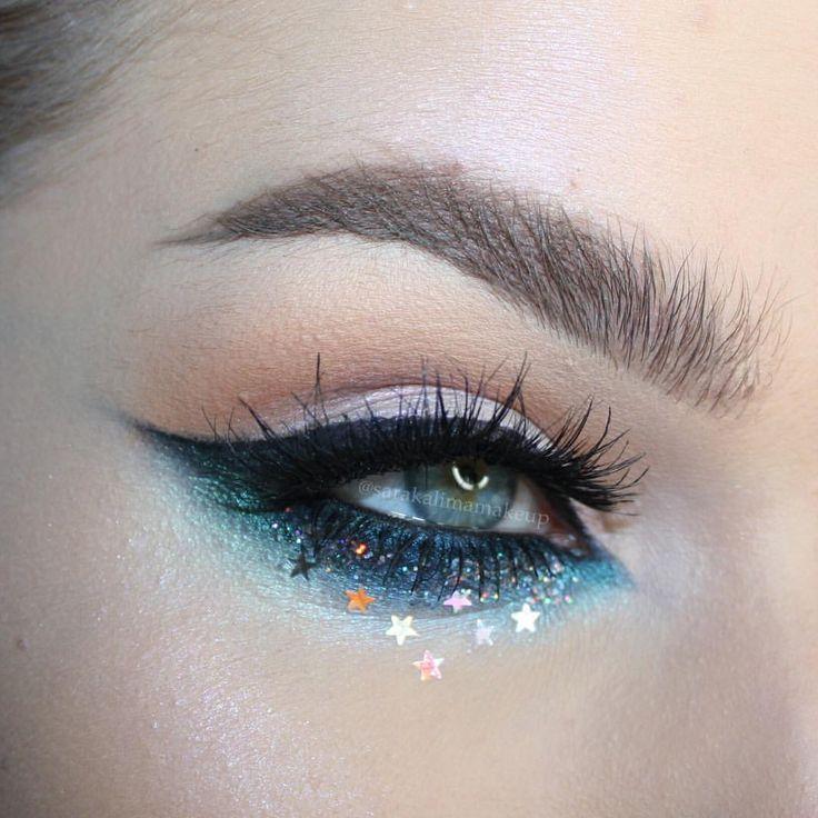 "326 Likes, 9 Comments - Sara Kalima (@sarakalimamakeup) on Instagram: ""Starry Eyed ✨✨✨ @katvondbeauty Shade & Light Eye Palette, Alchemist Palette @maccosmetics Black…"""
