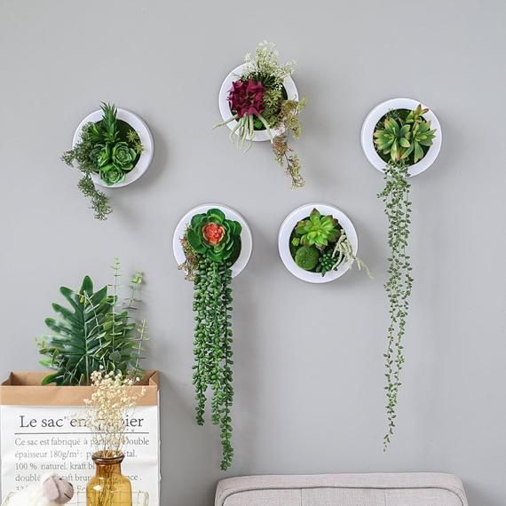 Artificial Flower Fake Plants Wall Hanging Decor For Wedding