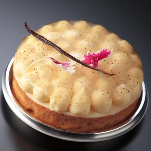 Tahiti vanilla tart pierre gagnaire french for Art cuisine tahiti