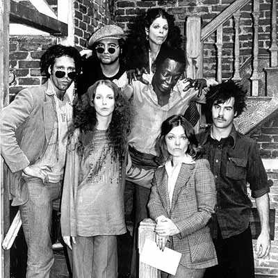 SNL The early years - Lorraine Newman, Chevy Chase,John Balushi,GildaRadner, Garrett Morris, Dan Aykroid, Jane Curtain