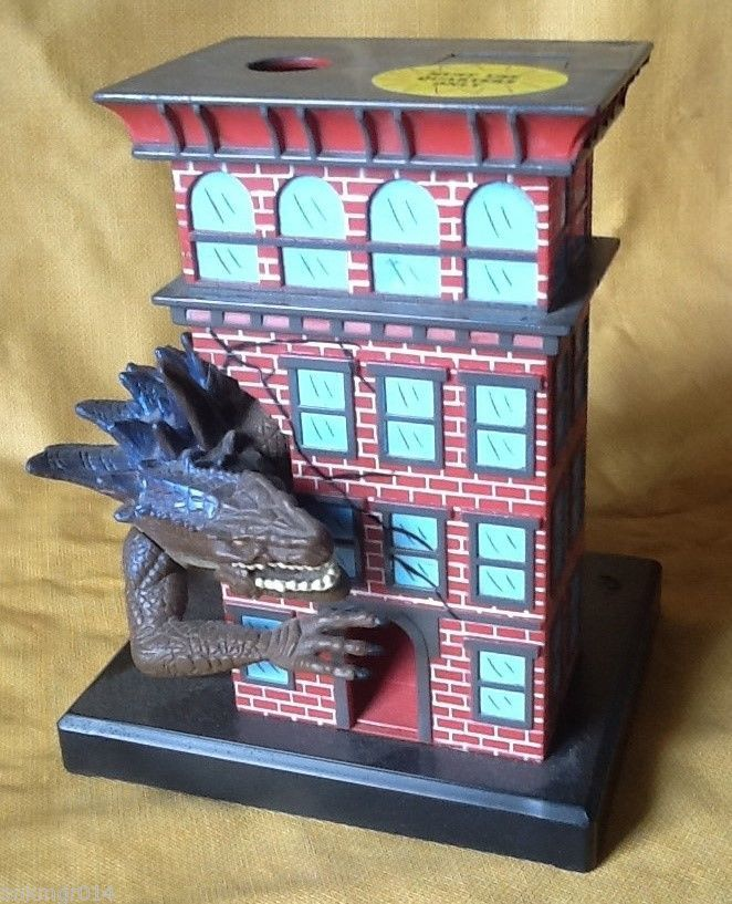 1998 Manley Toy Quest Godzilla Movie Electronic Bank #ManleyToyQuest