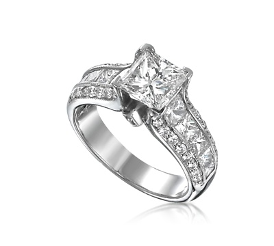 Ring Settings Ring Settings For Princess Cut Diamonds