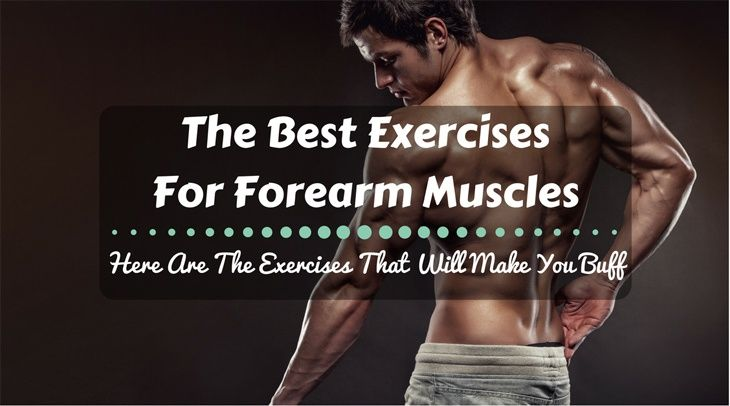 What Are The Best Exercises For Forearm Muscles? Here Are The Exercises That Will Make You Buff!