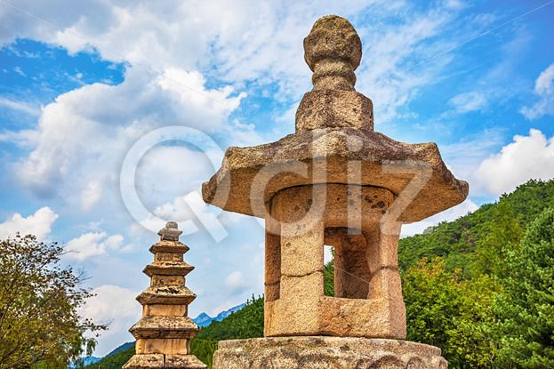 Qdiz Stock Photos | Stone religious monument in Korea,  #antique #architecture #asia #asian #culture #Korea #korean #landmark #monument #old #place #religion #religious #sculpture #South #stone #traditional #worship