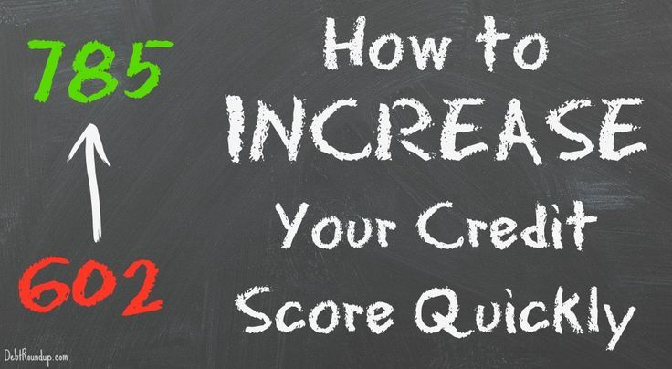 best way to increase credit score fast
