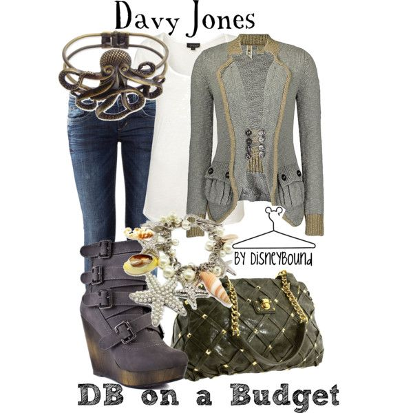 """""""Davy Jones"""" Even though I didn't like Davy Jones, I would love to wear this outfit!"""