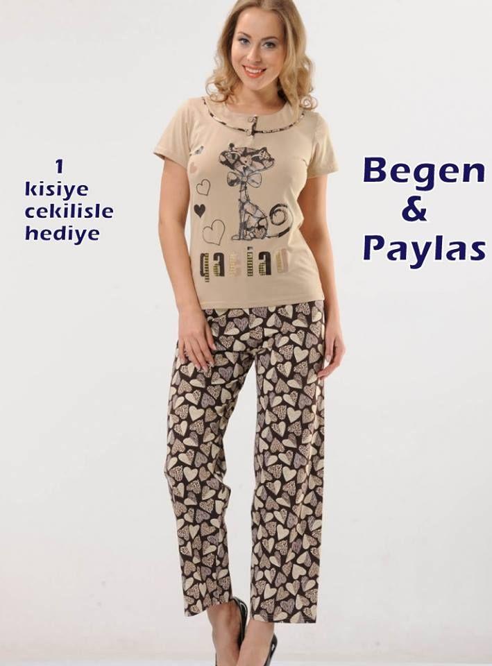 Pinterest sayfamızı takip eden 1 kişiye  Kedicikli Pijama Takımı http://bit.ly/1yj1sMu hediye  Kampanya 06 Şubat Cuma günü sona erecektir. Kazanan takipçimizin hediyesi 24 saat içinde gönderilecektir.  www.pijama.com.tr  #yarisma #kampanya #hediye #çekilis #çekilisvar #pijamatakımı #bayanpijama #pijamacomtr #pinterest