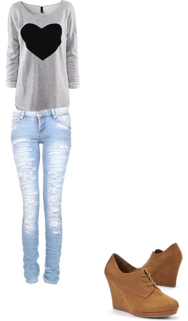 """Il look a la Martina Stoessel"" by polylover-398 ❤ liked on Polyvore"