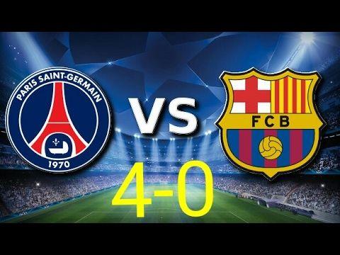 BARCA DI BANTAI ● PSG VS BARCA ● 4 - 0 😆