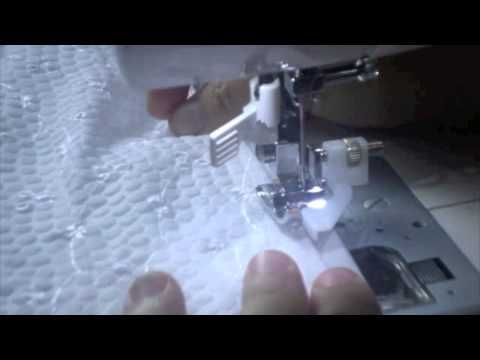 Como coser un dobladillo con puntada ciega - YouTube