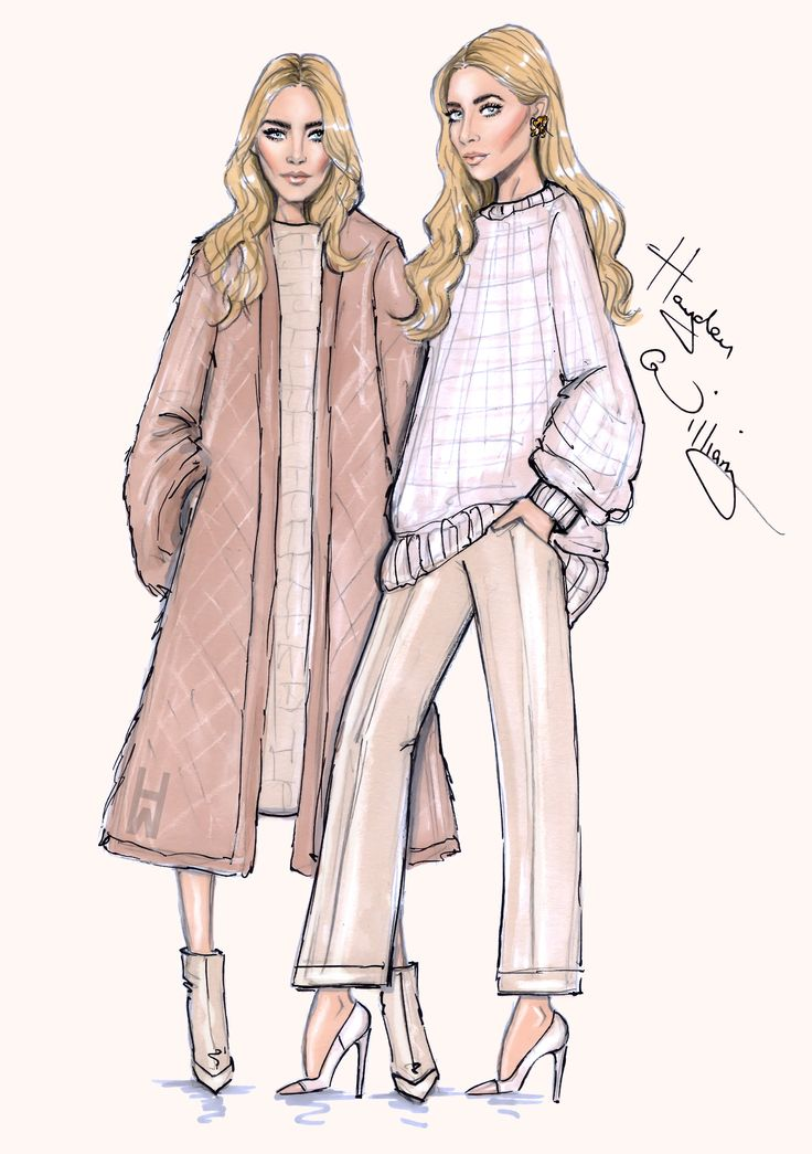Mary-Kate & Ashley 'Modern Classics' By Hayden Williams