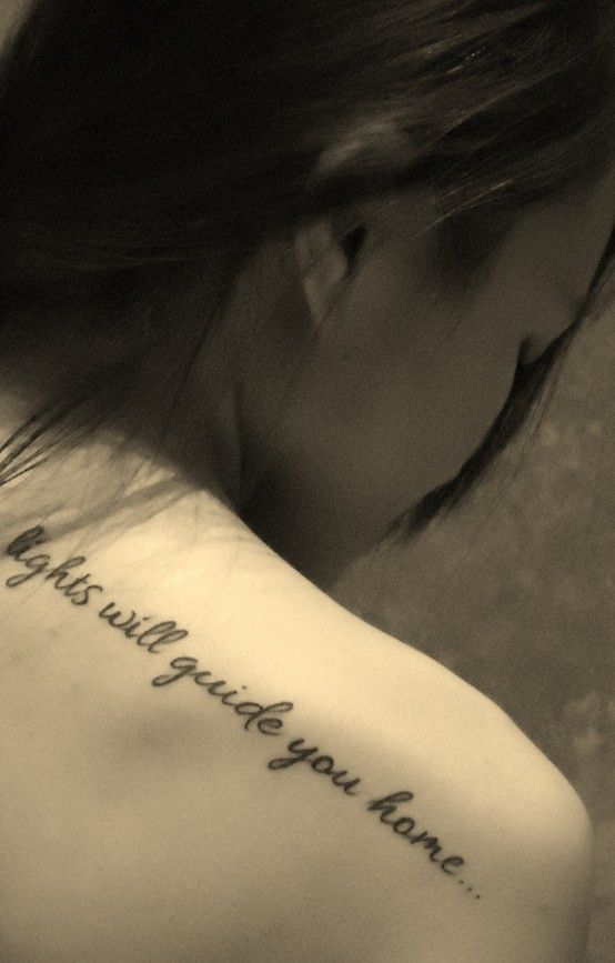 From Fix You - Coldplay