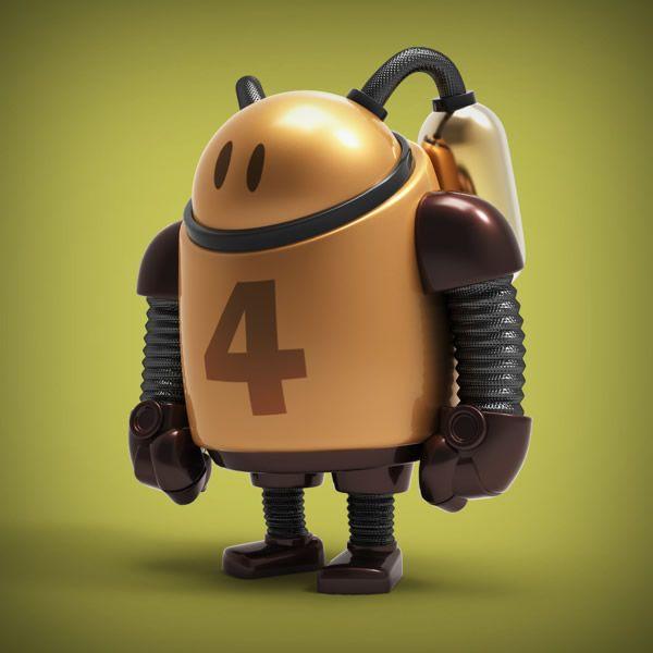 Cool Robot Designs by Steve Talkowski