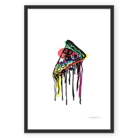 Poster Pop.Pizza.Freak de @viniancetti | Colab55