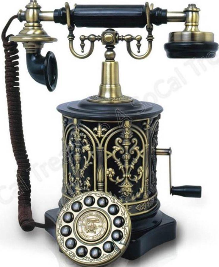 Telephone Retro Vintage Antique Phone Corded Landline Rotary Biscuit BARREL - Best 25+ Antique Phone Ideas On Pinterest Vintage Telephone, Old
