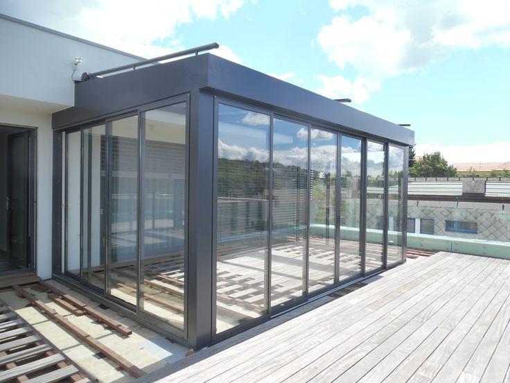 SPACEline - studená zimná záhrada - Multiraum - tienenie strechy