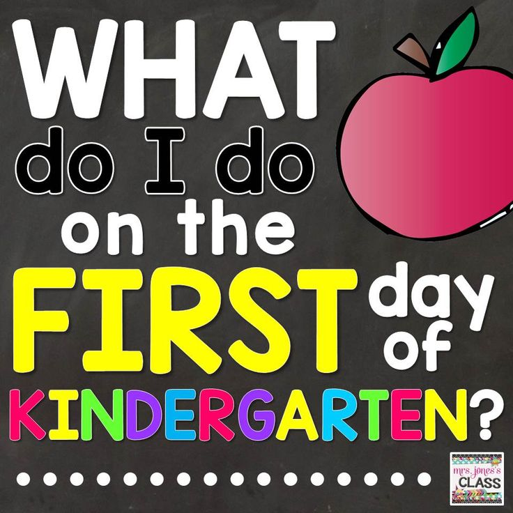 Tried and tested, realistic (& editable!) lesson plans for the first day of Kindergarten. Plus--Routines & procedures to start your year off right!