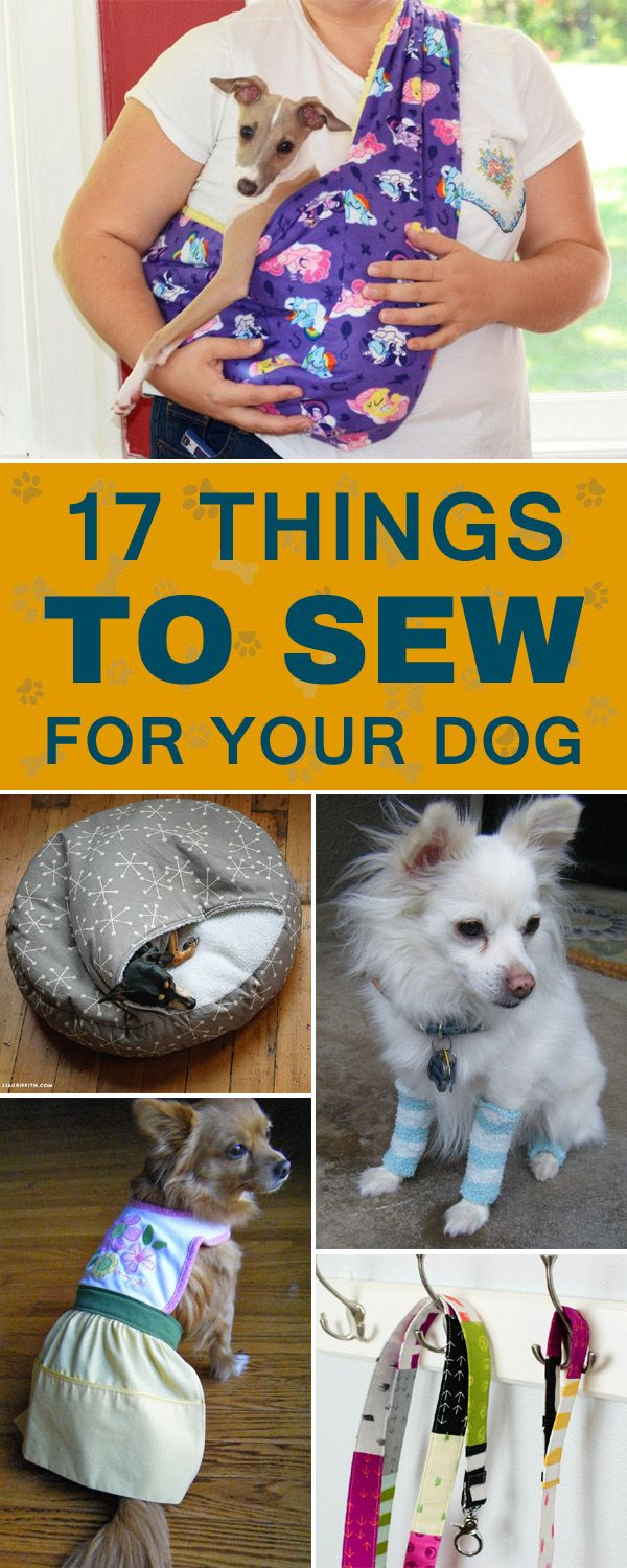 17 Cool Things To Sew For Your Dog Dog Coats Dog Sweaters Dog