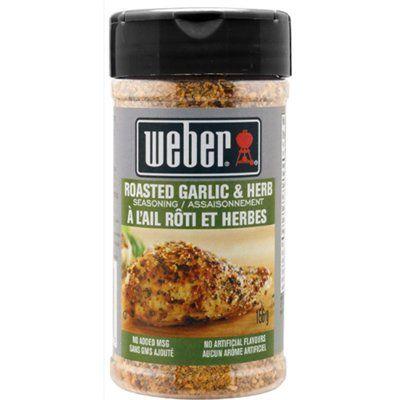 Weber 1 8-oz Garlic and Herb Seasoning Blend