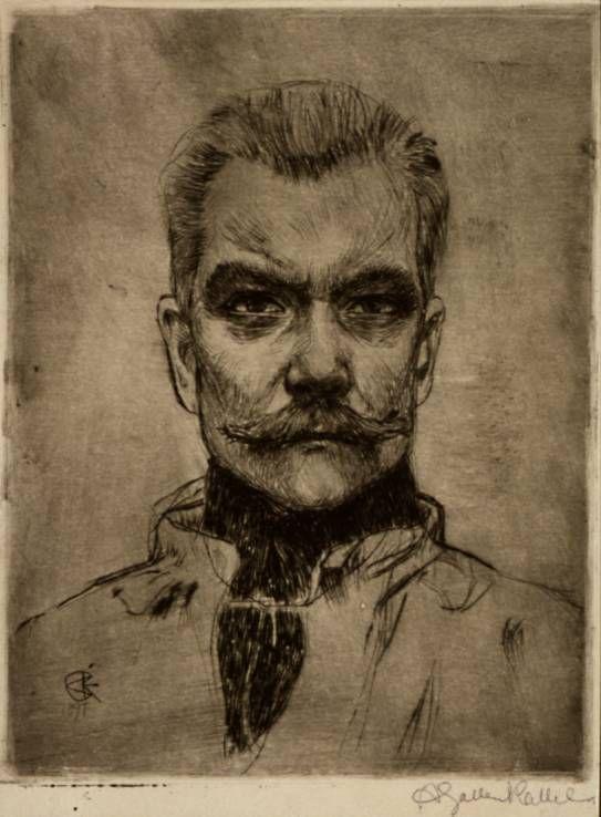 Akseli Gallen-Kallela, 'Self-Portrait'