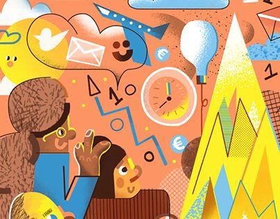 Editorial illustrations 2017