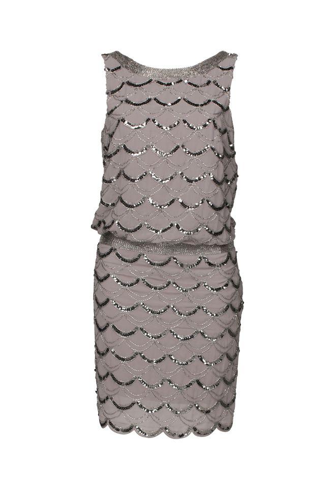Sequin Flipper Dress