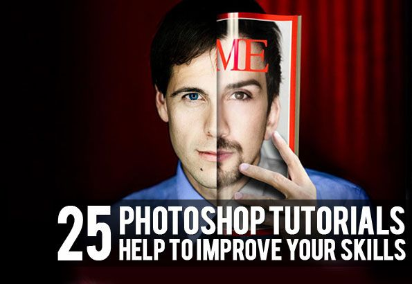 Photoshop isn't as easy as you see here.
