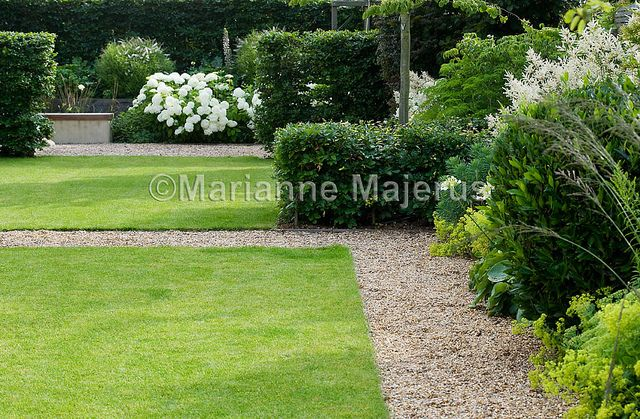 Large Family Garden | Dividing hedges in formal garden | Charlotte Rowe Garden Design
