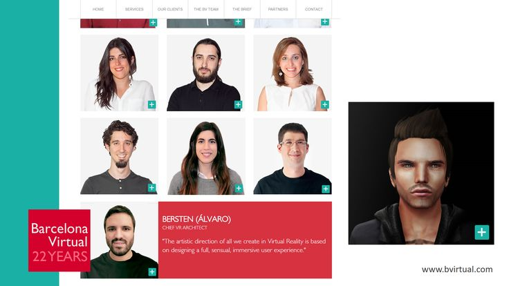 #BVTEAM #VR · We once again are hiring #avatars: already back in 2007 we had several on staff ;-) Today we welcome Bersten, our Chief VR Architect · February, 2017