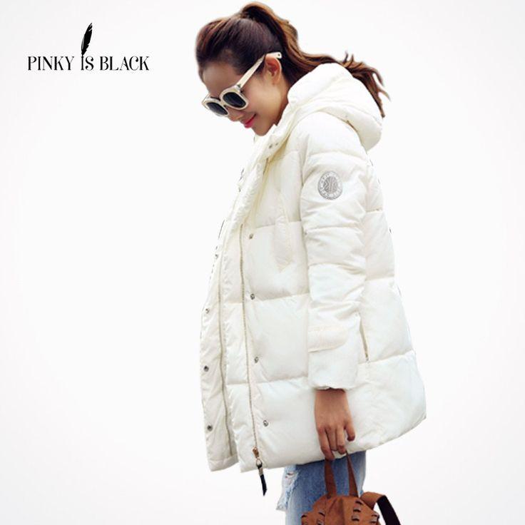 Long Parkas Female Women Winter Coat