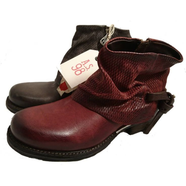 Low leather boots - AS.98 shoes online - Online shoe store