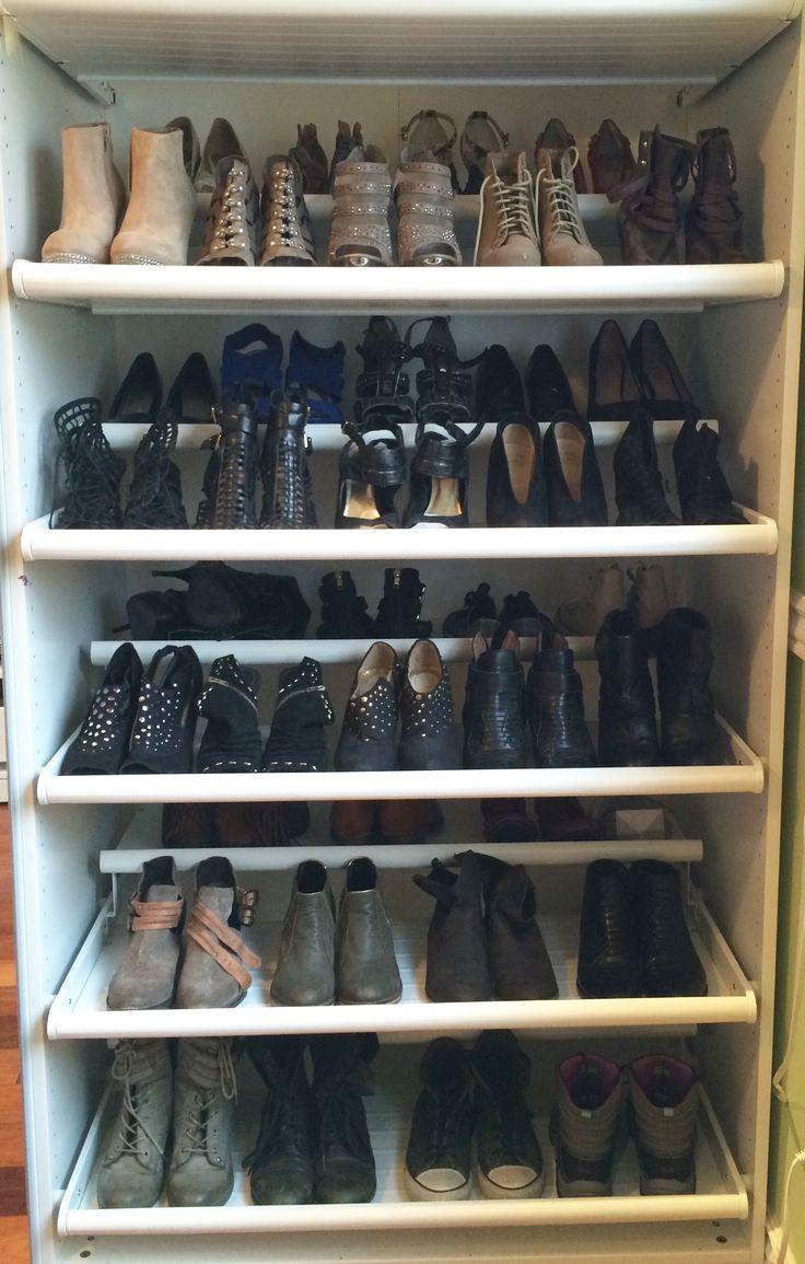 16 best Shoe Storage images on Pinterest | Shoe storage solutions ...