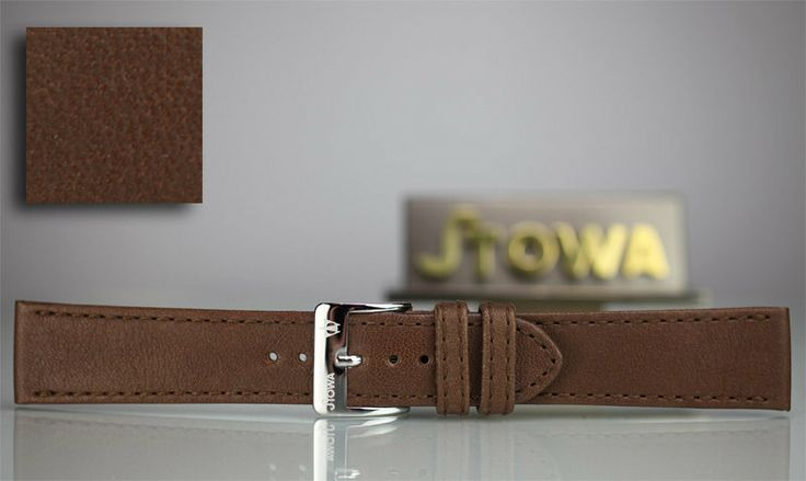 Stowa brown leather strap