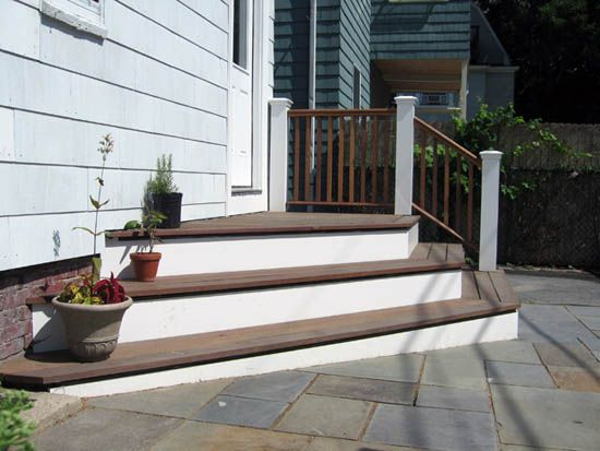 26 best patio / deck stairs images on pinterest | stairs, deck ... - Patio Step Ideas