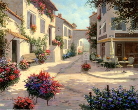 Sunny Afternoon Print by Christa Kieffer at Art.com