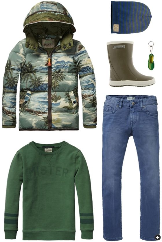 It's all about green | Scotch Shrunk for boys | www.eb-vloed.nl