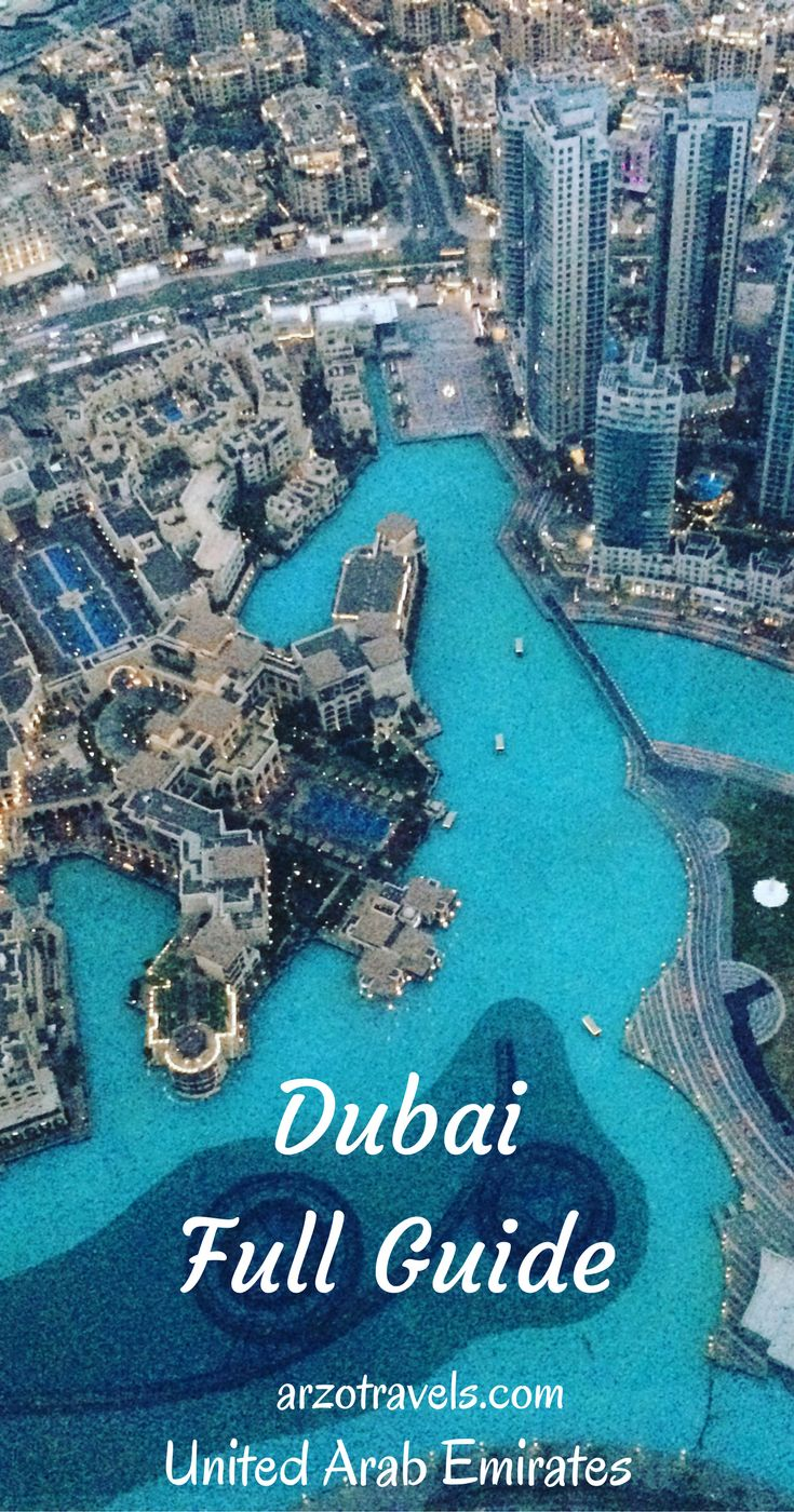 Dubai Travel Advisory - a full guide to Dubai, United Arab Emirates.