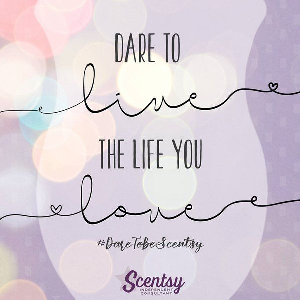 Are you daring enough to live a life you LOVE? http://www.justawickaway.com